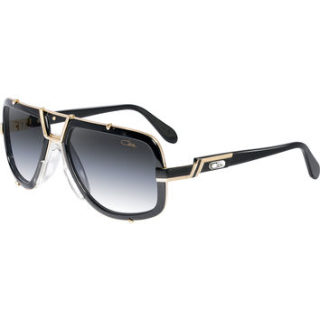 Cazal 656 Black Gold Sunglasses