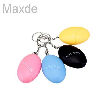 2017 New Arrival Portable Self Defense Security Keychain Alarm For Protecting Women Kids Elderly Personal Guard Safety Alarm