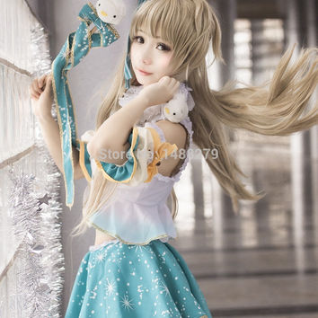 Custom Any Size New LoveLive! Card UR Minami Kotori Cosplay Fancy Dress Adult Cosplay Costume Halloween Costumes for Women