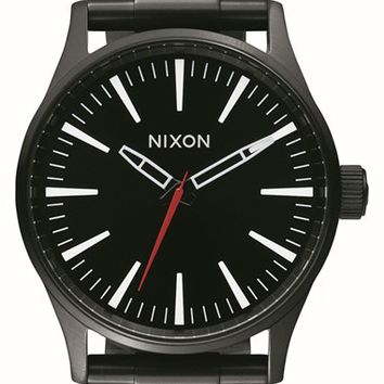 Women's Nixon 'Sentry' Bracelet Watch, 38mm - Black/ White