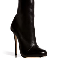 Dsquared2 - Leather Stiletto Ankle Boots