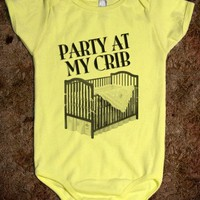 Party At My Crib - Kids Onesuit - Tee Time Baby