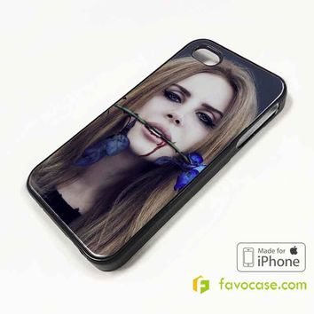 LANA DEL REY Born to Die iPhone 4/4S 5/5S/SE 5C 6/6S 7 8 Plus X Case Cover