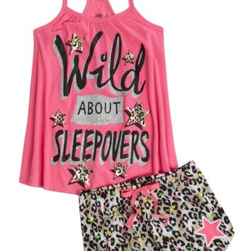 INITIAL PAJAMA SET | GIRLS PAJAMAS SLEEP & UNDIES | SHOP JUSTICE
