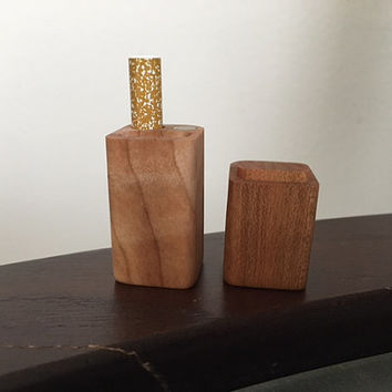 Hand Crafted Maple Wood Dugout One Hitter with Taster Bat
