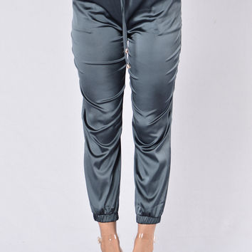 Genie In A Bottle Pants - Charcoal