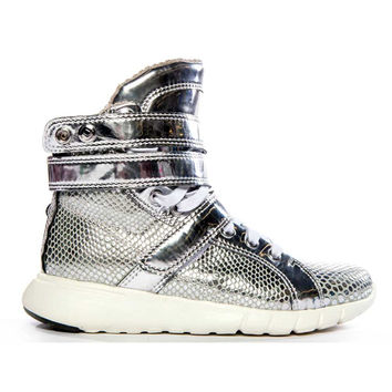 Silver Anaconda Super Trainer Hightop Bodybuilding Sneaker