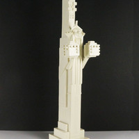 Frank Lloyd Wright Midway Sprite Holding Cubes Sculpture