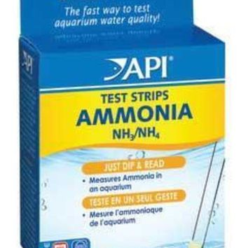 PEAPG2Q Ammonia Aquarium Test Strips