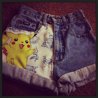Pokemon shorts by TheFashionFilth on Etsy