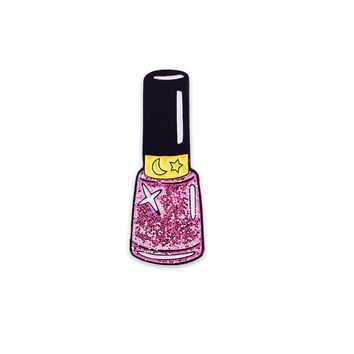 LASER KITTEN PINK MOON SPARKLE NAIL POLISH PIN - Shop Jeen - powered by Hingeto