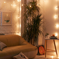 Lilac Tinted Globe String Lights | Urban Outfitters