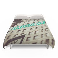 Society6 Broadway Duvet Cover