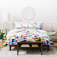 Fimbis Falling Into Place Duvet Cover
