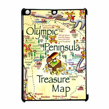 Treasure Map 2 iPad Air Case