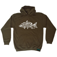 Drowning Worms Fishing Tackle Hoodie