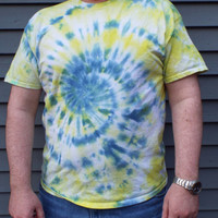 Mens Tall Tie Dye Tshirts, Big and Tall TieDye Shirts, hippie fathers day gift, Custom Tiedye XLT, 2XLT, 3XLT, 4XLT, extra long tee