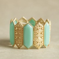 wandering portugal bracelet in mint at ShopRuche.com