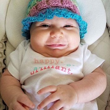 Lacy Baby Hat