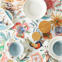 JUNGLE DIGITAL PRINT COTTON TABLECLOTH - TABLECLOTHS AND NAPKINS - KITCHEN & DINING | Zara Home United States of America