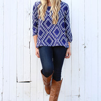 Diamondback Rattler Blouse
