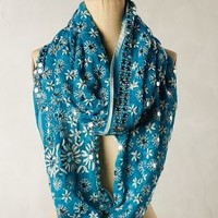 Spangled Garden Infinity Scarf by Anthropologie
