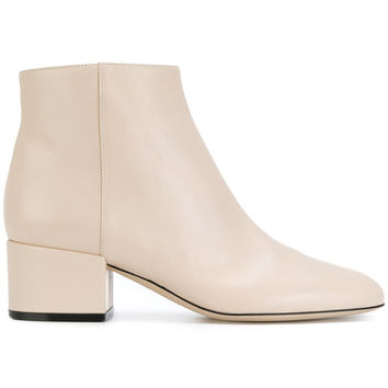 Sergio Rossi Zipped Ankle Boots - Farfetch