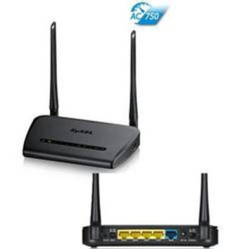 Wireless AC750 GbE USB Router