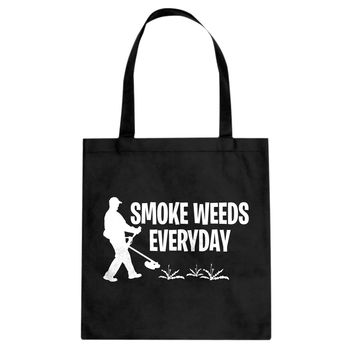 Smoke Weeds Everyday Cotton Canvas Tote Bag