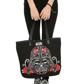 Star Wars Loungefly Sugar Skulls Tote Bag