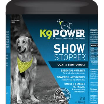 K9 POWER Show Stopper Dog Supplement - Sale