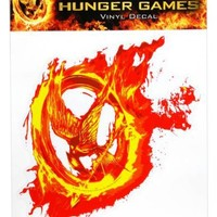 """The Hunger Games Movie Laptop Decals """"Mockingjay Fire"""""""