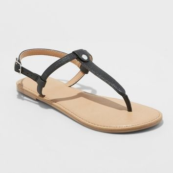 Girls' Odette Thong Sandals - Cat & Jack™