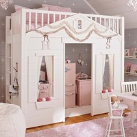 Cottage Loft Bed | Pottery Barn Kids