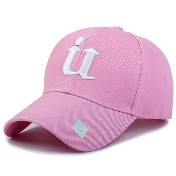 1Piece Baseball Cap Men Outdoor Sports Golf leisure hats U letter embroidery sport cap for men and women