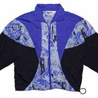 Purple Wave Reebox Track Jacket S