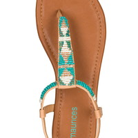 Cool antonia Bead Embellished Sandal