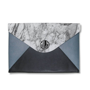 FREE CUSTOMIZE marble clutch,monogram clutch bag,ovesize clutch bag,leather hand bag,girlfriend gifts,gift for her,personalise clutch