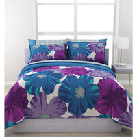 Walmart: Formula Giant Floral Reversible Bed in a Bag Bedding Set
