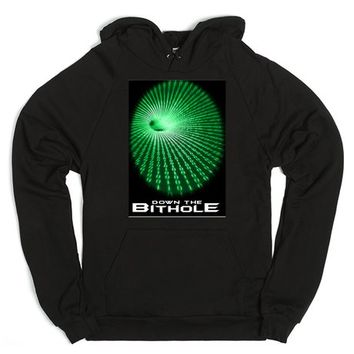 Down the bithole hoodie