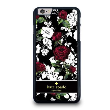 KATE SPADE ROSE RED WHITE iPhone 6 / 6S Plus Case