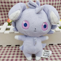 "Pokemon Tomy Espurr Plush Doll 7"" Toy"