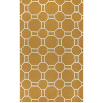 Club Outdoor Yellow Rug