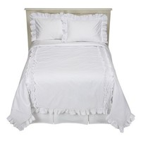 Simply Shabby Chic® Heirloom Comforter Set - White