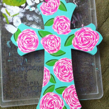 Lilly Pulitzer Inspired First Impression Print by JAMEnterprises