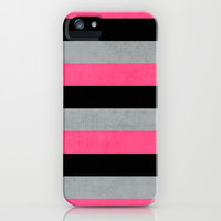 cosmopolitan stripes iPhone & iPod Case by her art