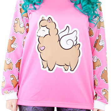 Choco Alpaca Squad Sweater – Living Dead Clothing