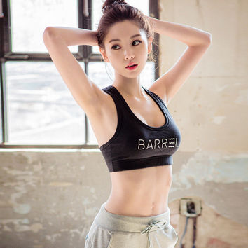 Korean Professional Gym Vest Yoga Quick Dry Underwear Sports Bra [6572515783]