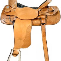 "15"", 16"", 16.5"", 17"", 18"" Genuine Billy Cook Team Roper Saddle 10-2082"