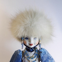 Porcelain Doll Tsarevna by LyubovPolyakova on Etsy